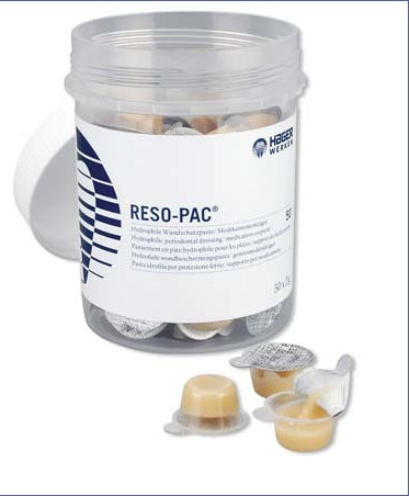 RESO-PAC PANSEMENT GENCIVES 50X2 G