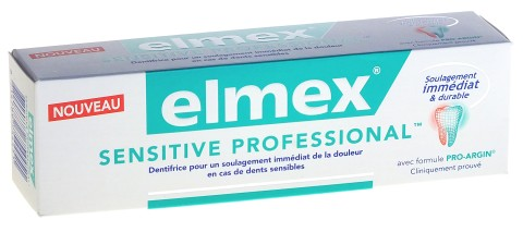 DENTIFRICE ELMEX SENSITIVE PROFESSIONNAL