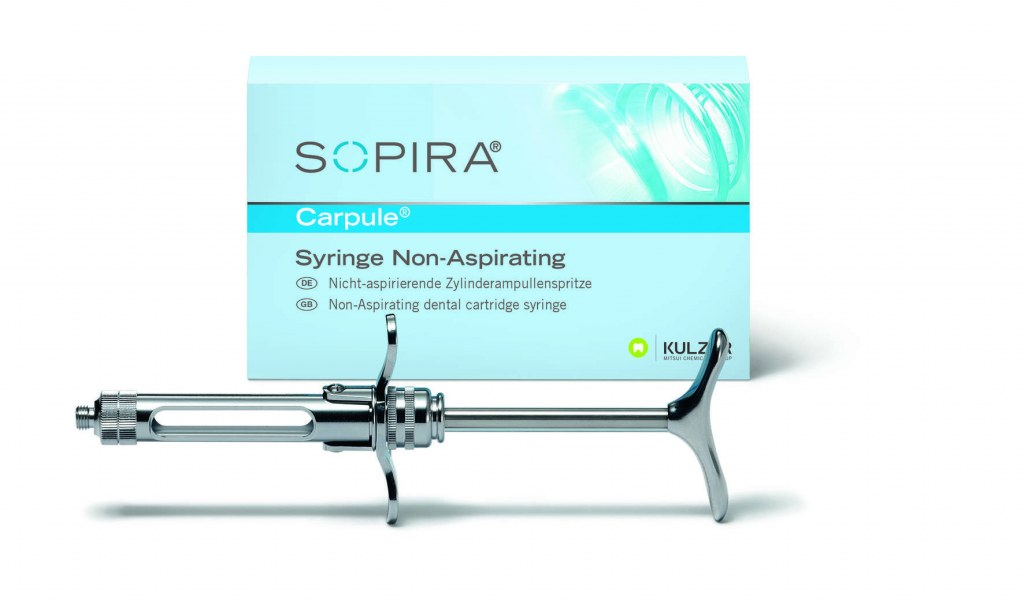 SOPIRA SERINGUE CARPULE NON ASPIRANTE 1.8ML
