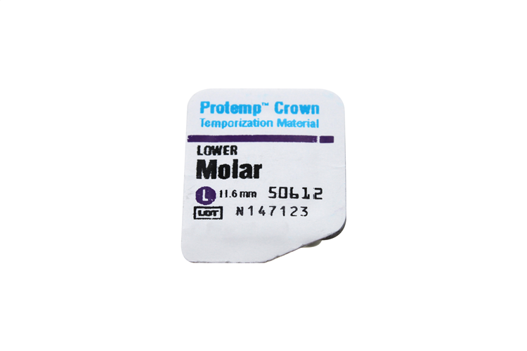 PROTEMP CROWN MOLAIRE  INF LARGE